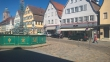 Brunnen am Marktplatz in Nürtingen